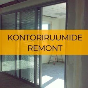 Kontoriruumide remont