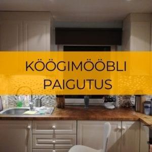 Köögimööbli paigutus